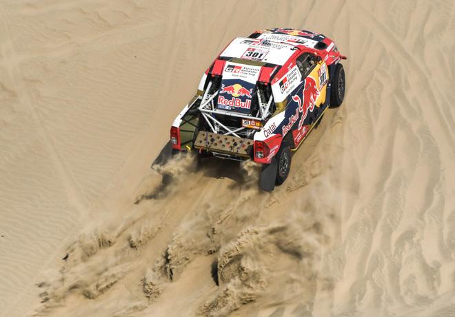 Dakar 2018 - Etapa 3 - Nasser Al-Attiyah - Toyota Hilux
