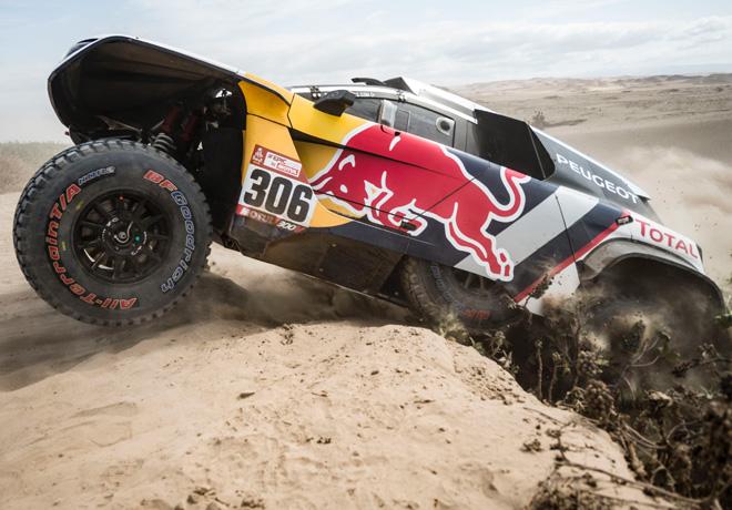 Dakar 2018 - Etapa 4 - Sebastien Loeb - Peugeot 3008DKR Maxi