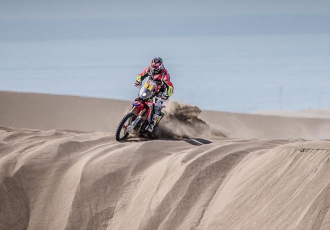 Dakar 2018 - Etapa 5 - Joan Barreda - Honda