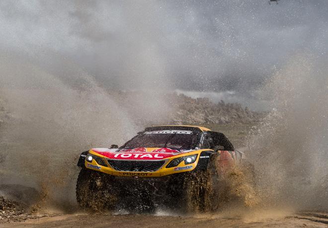 Dakar 2018 - Etapa 5 - Stephane Peterhansel - Peugeot 3008DKR Maxi