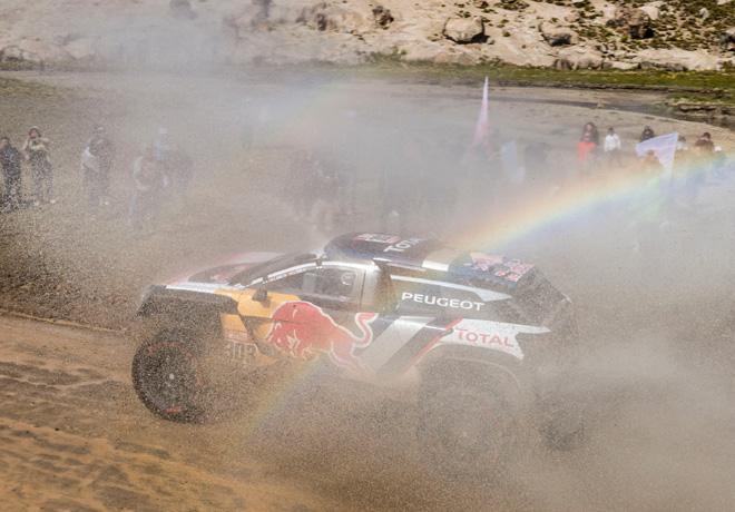 Dakar 2018 - Etapa 6 - Carlos Sainz - Peugeot 3008DKR Maxi