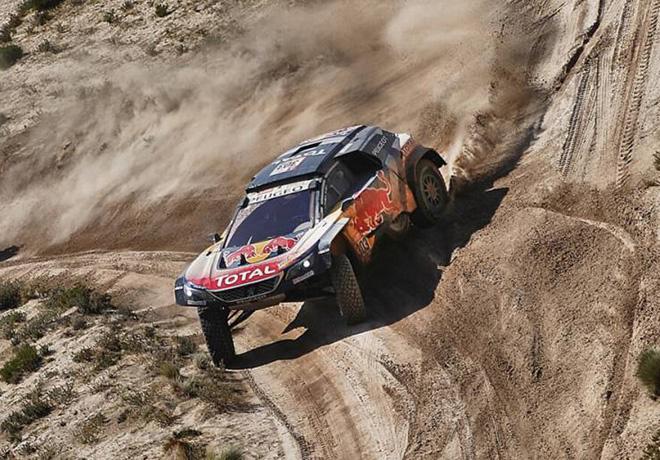 Dakar 2018 - Etapa 7 - Carlos Sainz - Peugeot 3008DKR Maxi