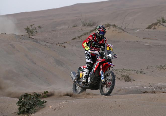 Dakar 2018 - Etapa 7 - Joan Barreda - Honda