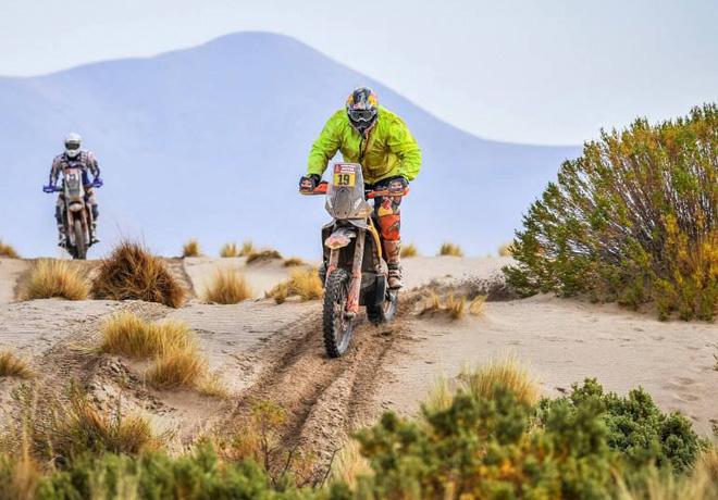 Dakar 2018 - Etapa 8 - Antoine Meo - KTM