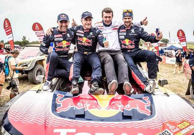 Dakar 2018 - Tercera victoria consecutiva de Peugeot 1