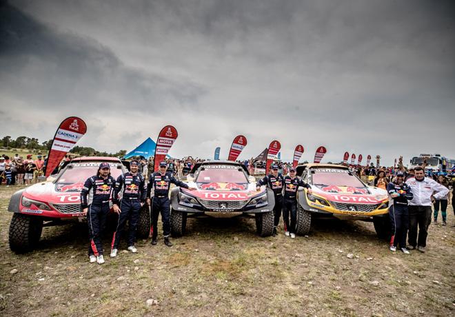 Dakar 2018 - Tercera victoria consecutiva de Peugeot 2