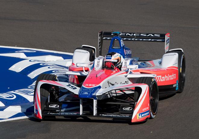 Formula E - Marrakech - Marruecos 2018 - Carrera - Felix Rosenqvist - Mahindra