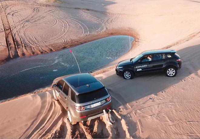 Jaguar y Land Rover llegan a Costa Esmeralda.