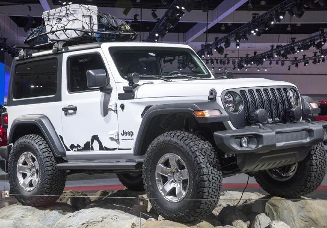 Jeep Wrangler 2018 en el CES