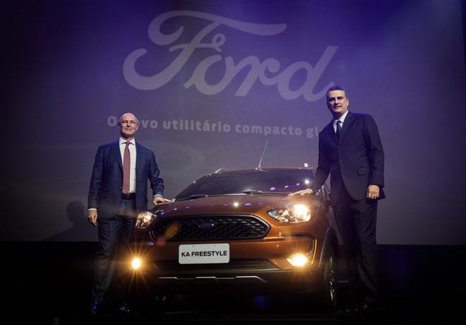 Ka Freestyle - nuevo utilitario compacto global de Ford 1