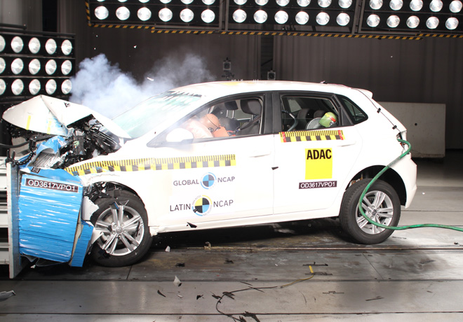 Latin NCAP - VW Virtus- con 4 Airbags
