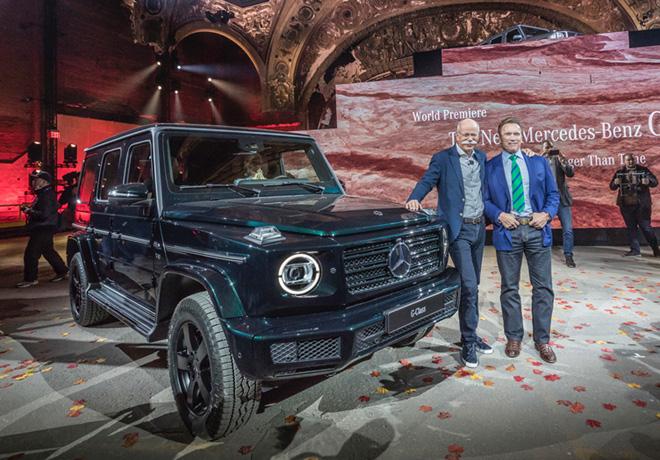 Mercedes-Benz presento en Detroit la nueva Clase G de la mano de Schwarzenegger 4
