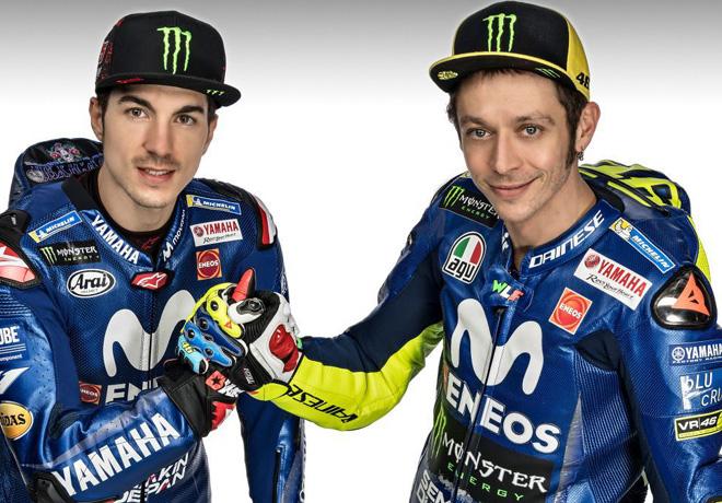 MotoGP - Maverik Vinales - Valentino Rossi - Movistar Yamaha