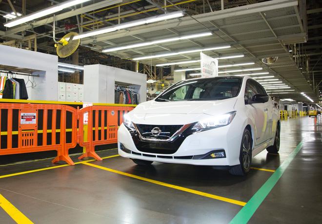 Nissan anuncia el inicio de produccion del nuevo LEAF en Estados Unidos