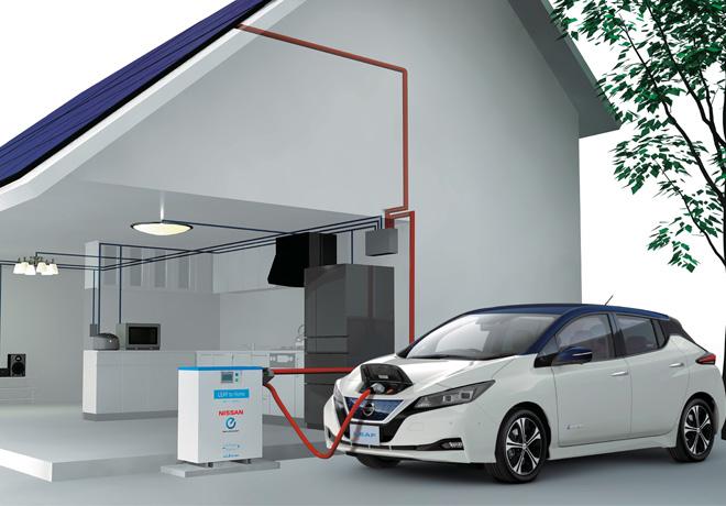 Se ofrecen paneles solares gratis a los nuevos propietarios de Nissan LEAF