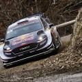 WRC - Monaco 2018 - Dia 2 - Sebastien Ogier - Ford Fiesta WRC