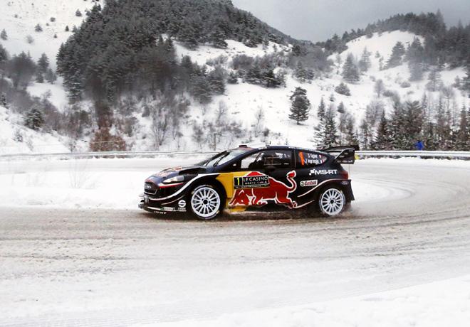 WRC - Monaco 2018 - Dia 3 - Sebastien Ogier - Ford Fiesta WRC