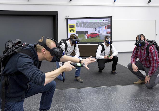 Audi prueba su holodeck de realidad virtual para el desarrollo de productos