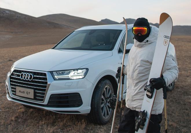 Audi y Candide Thovex desafian todo tipo de terreno