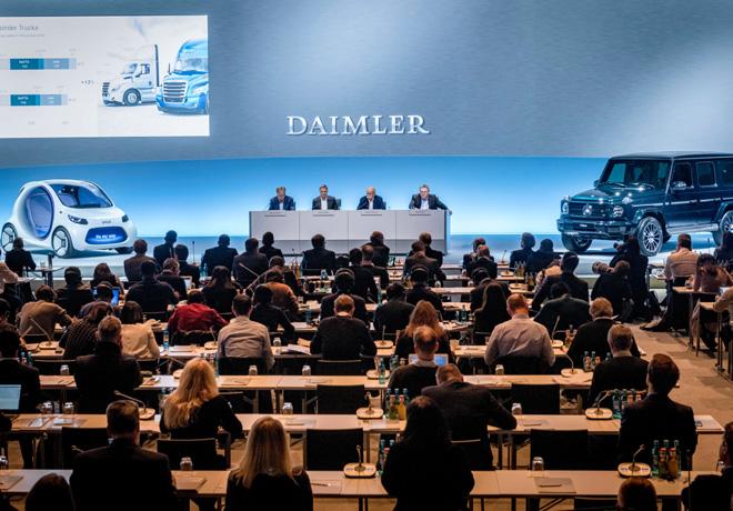 Daimler AG cierra un exitoso 2017