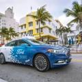 Ford junto a la ciudad de Miami lanzo las primeras operaciones con vehiculos de conduccion autonoma
