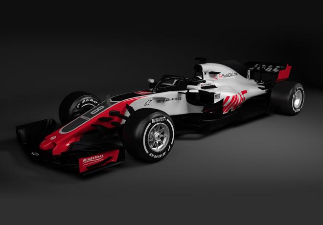 Formula 1 - Haas F1 Team VF-18 2