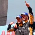 Formula E - Santiago de Chile - Chile 2018 - Carrera - Andre Lotterer y Jean-Eric Vergne en el Podio