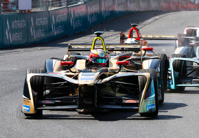 Formula E - Santiago de Chile - Chile 2018 - Carrera - Jean-Eric Vergne - Techeetah