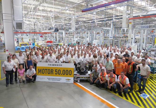 GM produce el motor turbo 50 mil en Argentina