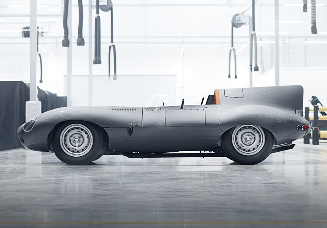 Jaguar retoma la produccion del legendario D-Type 2