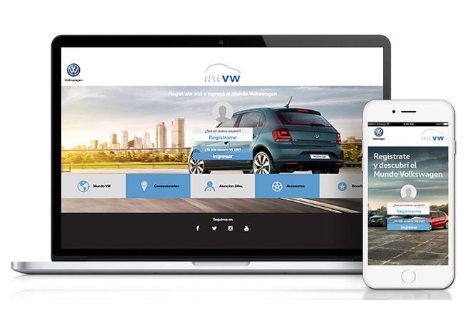 Mi VW - Plataforma digital para Clientes Volkswagen