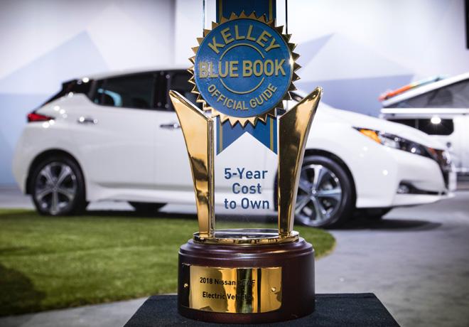 Nissan LEAF obtiene 5 estrellas en seguridad