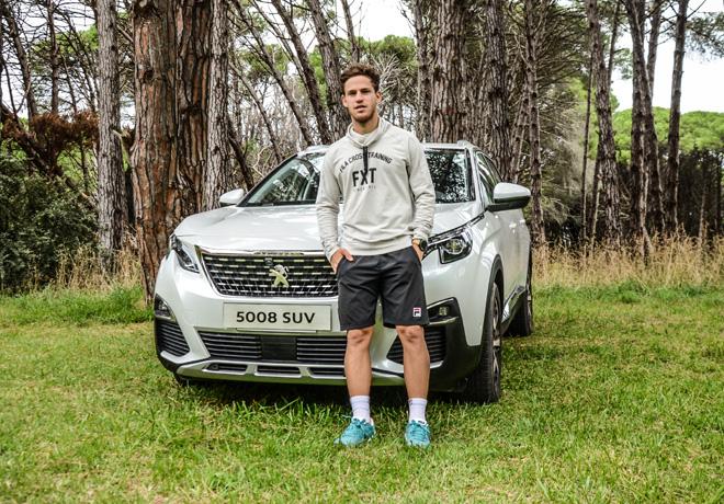 Peugeot - Sponsor oficial del Argentina Open - Diego Schwartzman