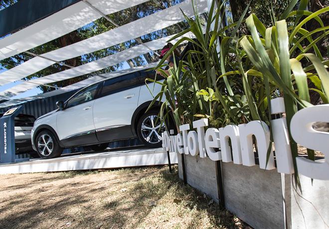 Peugeot - Sponsor oficial del Argentina Open