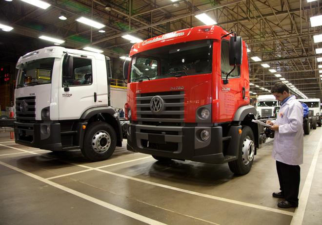 Planta de Volkswagen Camiones en Resende