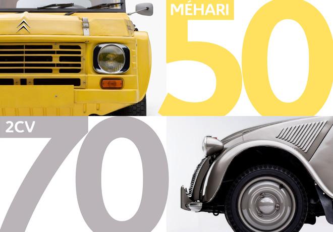 Retromobile 2018 - Citroen festeja los 70 anios del 2CV y los 50 de Mehari