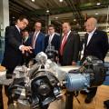 Scania recibio la visita del gobernador Manzur y del embajador Magarinos en su fabrica de Tucuman
