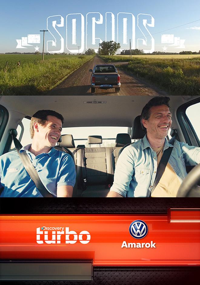 Socios - La nueva produccion de Amarok junto a Discovery Turbo