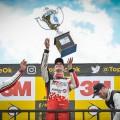 Top Race - Parana 2018 - Carrera - Ricardo Risatti - Matias Rossi - Agustin Canapino en el Podio