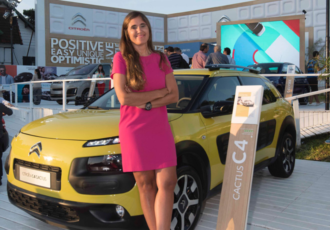 Valentina Solari - Directora de Marketing y Comunicacion de Citroen Argentina