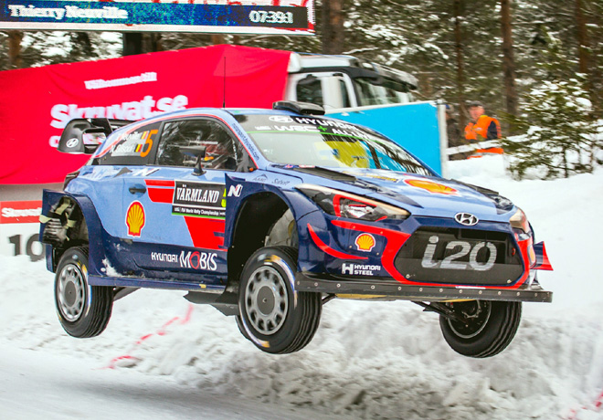 WRC - Suecia 2018 - Dia 2 - Thierry Neuville - Hyundai i20 WRC
