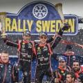 WRC - Suecia 2018 - Final - Thierry Neuville en el Podio