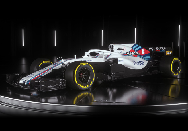 Williams Mercedes FW40