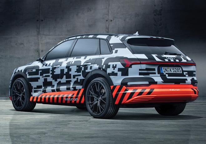 Audi e-tron prototype 3