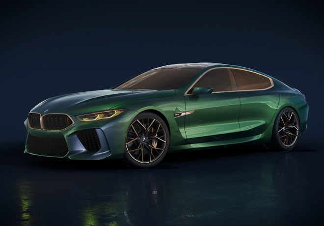 BMW M8 Gran Coupe Concept 1