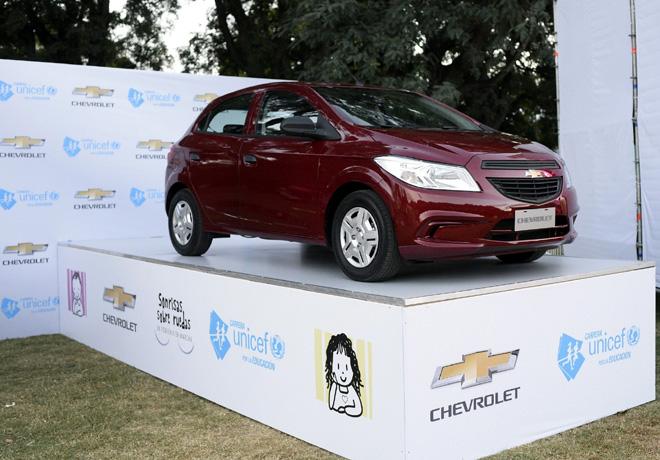 Chevrolet - Carrera UNICEF por la Educacion 1