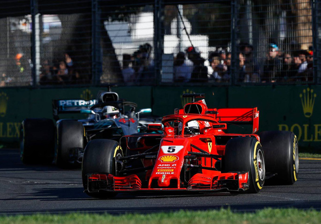 F1 - Australia 2018 - Carrera - Sebastian Vettel - Ferrari