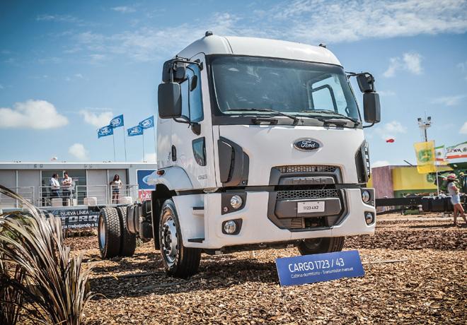 Ford Cargo 172343 en Expoagro 2018