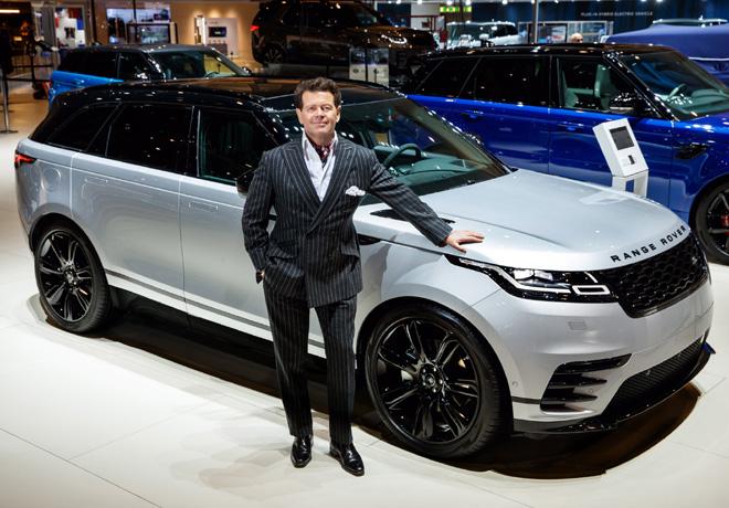 Gerry Mcgovern - Jefe de Diseno de Land Rover