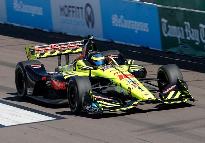 IndyCar - St Petersburg 2018 - Carrera - Sebastien Bourdais